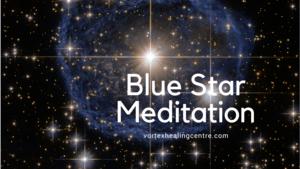 Hubble Blue Star Image